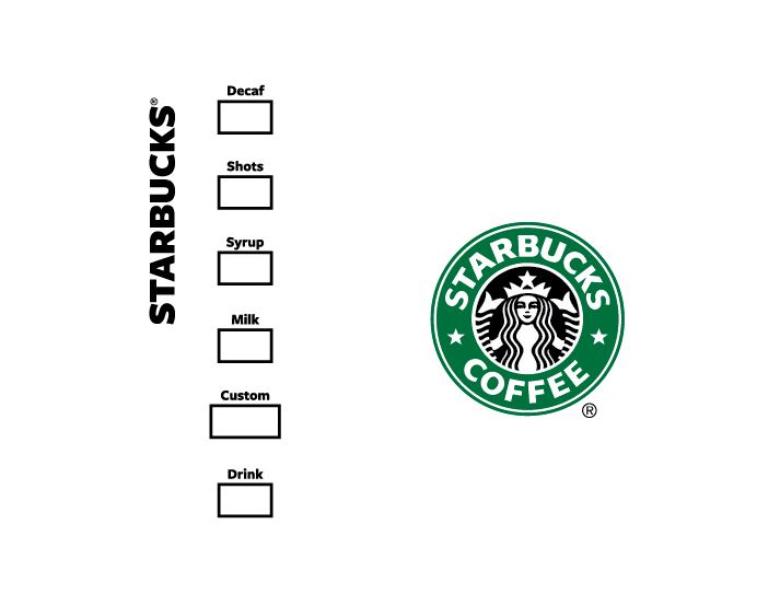 Starbucks Logo Cup Svg Make Your Own Custom Cup Tested In Design Space Optimized For Cricut Please See Description For Details Nerdspaceship